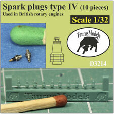 Taurus Models 1:32 Spark Plugs (Early British) (20 Pieces) D3214 Wingnut Wings