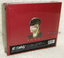 TOHOSHINKI TVXQ Catch Me Taiwan CD+38P Booklet+Card (Red Ver.) Dong Bang Shin Ki