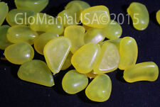 Glow in the Dark Yellow StoneS, Aquarium, Pathways 100pcs