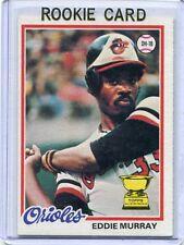1978 Topps Baseball Card Eddie Murray HOF ROOKIE Baltimore Orioles Near MT #  36