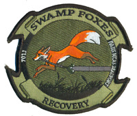 USMC Swamp Foxes MCAS Beaufort H&HS RECOVERY STICKER NEW!!!