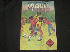 Wolf Cub Scout Action Book, 1984, inner city handbook    eb13