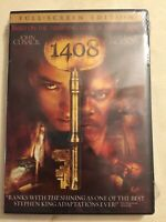 1408 - DVD (2007) Full Screen Edition - John Cusack & Samuel L. Jackson - *New*