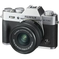 Fuji Fujifilm  X-T20 Silver + XC 15-45mm Mark Lens (UK Stock) BNIB