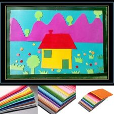 41 Color 15X15cm Nonwoven Felt Fabric Sheets Kid DIY Crafts Working Square Cloth