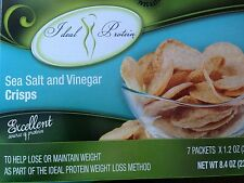 IDEAL PROTEIN Box of SEA SALT & Vinegar Soy Crisp New Release