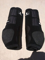 BLACK FRONT classic equine legacy boots horse tack SMB sport medicine ALL SIZES