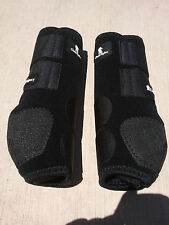 Classic Equine Legacy System Front BOOTS Cls100b M Black Medium