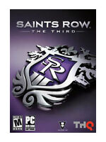 Saints Row The Third PC Video Game DVD Rom 2011 ALL Contents Included