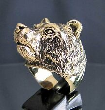 bague bronze OURS - GRIZZLY  neuve (9) NEW