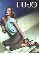 PUBLICITE ADVERTISING  2011  LIU-JO le modèle Kate moss superbe Top & pantalon