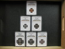 1966 CANADIAN COMM. SET - NGC GRADED SPECIMENS - FREE SHIPPING!!!