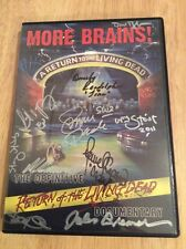 SIGNED x16 More Brains! A Return to the Living Dead DVD + Pics Beverly Randolph