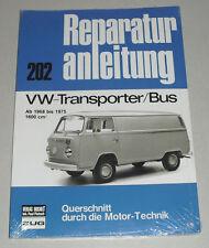 Reparaturanleitung VW Bus + Transporter T2 T2a, Baujahre 1968 - 1975