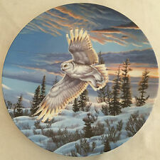 """Cynthie Fisher's """"Twilight Glow"""" Spirits of the Sky 8 inch Plate"""