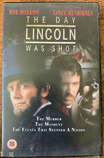 The Day Lincoln was Shot VHS President Assassination TNT Original TV Big Box