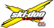 "(SKID-1) 6"" SKIDOO SKI-DOO SNOWMOBILE REV X DECAL STICKER"