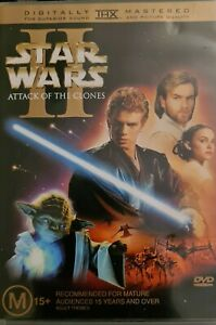 Star Wars Episode II Attack of the Clones DVD Region 4 2-Disc