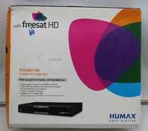 Freesat Humax FOXSAT-HD Digital Box Black