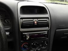 D Opel Astra G Chrom Rahmen für Lüftungsschacht Mitte - Edelstahl poliert