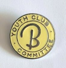 More details for butlins-youth club-committee-enamel badge-rare and collectable