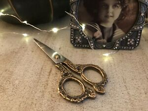 vintage style scissors sewing art craft's stationary L13cm