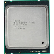 Intel Core  i7-3820 Processor  (10M Cache, up to 3.80 GHz) 2011 Socket