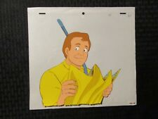 Real Ghostbusters Cartoon Animation Cel & Pencil Drawing B-29 Ray Stanz