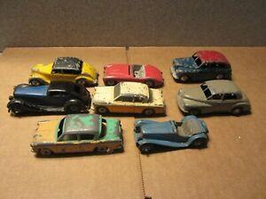 8 Used Dinky Cars