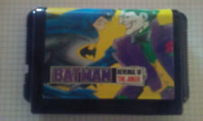 Video Gioco Retro Sega Game Mega Drive Cartridge Loose Batman Revenge Joker Rare