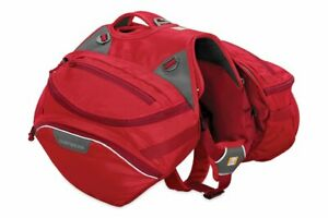 RUFFWEAR PALISADES DOG BACKPACK - RED - L/XL