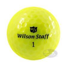40 WILSON STAFF GIALLE   palline da golf usate cat 4/5 STELLE (AAAPEARL)
