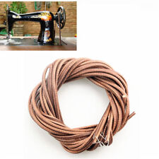 183 cm Leather Belt Treadle Parts + Hook For Singer Sewing Machine