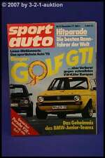 Sport Auto 12/77 Porsche 928 Fiat 131 Abarth + Poster