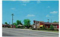 Route 66 • CHEROKEE MOTEL Postcard • MIAMI, OKLAHOMA c. 1967