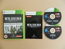 Metal Gear Solid HD Collection XBox 360 Game Bundle - Liberty, Snake, Walker