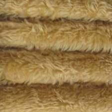 "1/4 yd 340H Wild Honey INTERCAL 5/8"" Med. Dense Heirloom Finish Mohair Fabric"