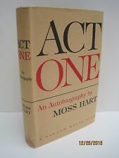 Act One: An Autobiography by Moss Hart