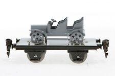 AC1115: Replica Märklin 0 Gauge Platform Wagon with Military Vehicle