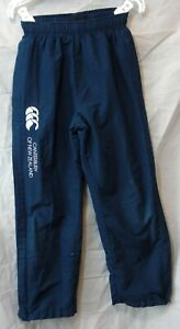 Boys Canterbury Navy Blue Sport PE Tracksuit Bottoms Trousers Age 10 Years