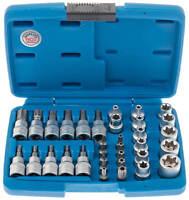 Außen Torx Nüsse 34-tlg Innentorx Nuss Steckschlüssel Satz Bits BGS Werkzeug Set