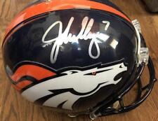John Elway- Full Size Denver Broncos Riddell Football Helmet Signed