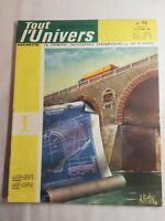 N68 Tout l'Univers Hachette N 73 mars 1964 plan d'un pont, un pont en maçonnerie