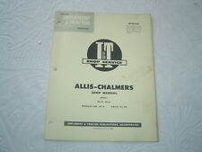 Allis Chalmers Wd45 Wd-45 diesel tractor shop service manual