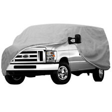 Full Car Cover For Auto Van Truck WaterProof In Out Door Dust UV Ray Rain Snow