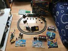 train lego 4559 vintage tres rare incomplet avec une partie de lego 6562 et 6545