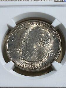1923-S US Monroe Commemorative Half Dollar Graded MS64 by NGC!!