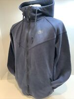 Mens Blue Nike Hooded Full Zip Jacket Size Large