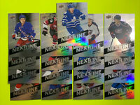 2016-17 Upper Deck Overtime Next In Line Rookie Lot X17 No Doubles Insert RC Lot