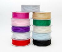 Satin Ribbon Berisfords New Sustainable Global Recycled Standard 3mm x 50 Metre Reel      7mm 10mm 15mm 25mm 35mm 50mm 70mm x 20 Metre Reel